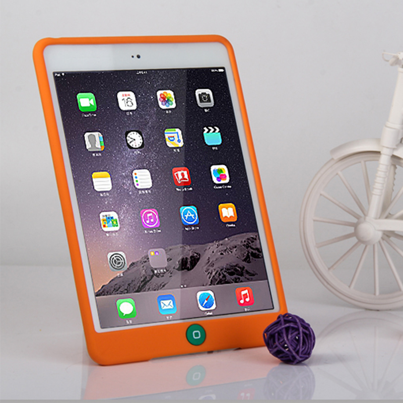 New Slim Soft For iPad Pro 9.7 Rubble Suger Color Protective Funda Case For Apple iPad Pro 9.7 Silicon Tablet Case