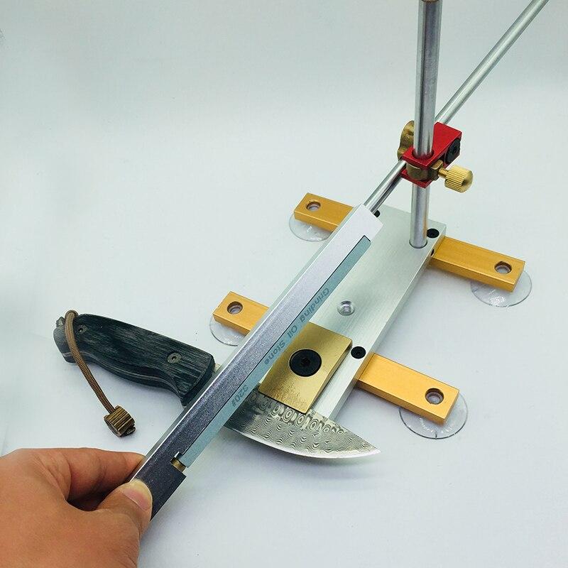 Longmen kitchen knife Razor Apex sharpener sharpening system Aluminum alloy+stainless steel sharpener whetstone