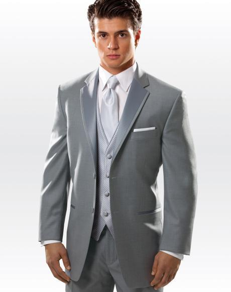 8dc1c04d8f7 Top Selling Custom Made New business casual slim dark grey mens suits groom  Tuxedo homme