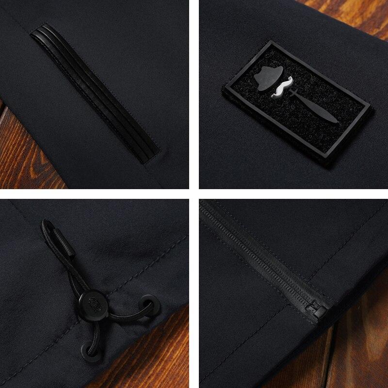 Image 5 - Giacca Da Uomo Cerniera di Nuovo di Marca di Arrivo casual Solido  Con Cappuccio degli uomini di Modo Giacca Outwear Slim Fit Primavera e  in Autunno di Alta qualità K11-in Giacche da Abbigliamento da uomo su