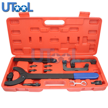 Engine Camshaft Timing Locking Tool Kit VW/Audi V6 2.0/2.8/3.0T FSI Engine Camshaft Alignment Tool T40133 T10172 auto engine camshaft locking alignment timing tool car repair garage tools kit for vw audi vag 2 4 3 2 fsi v6 v8 v10 at2070