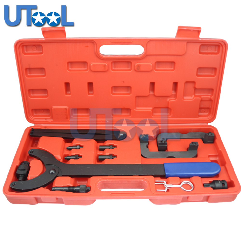 UTOOL Engine Camshaft Timing Locking Tool Kit for VW/Audi V6 2.0/2.8/3.0T FSI Engine Camshaft Alignment Tool T40133 T10172 outdoor multifunctional tent fixed clamp