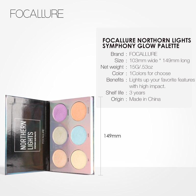 Focallure Highlighter Макияж Бояуы Палитрасы - Макияж - фото 4
