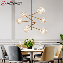 Chandelier Modern Glass Lighting