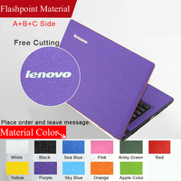 2015 Fashion Dust Proof Pure Color Laptop Sticke Personality Skins Protective Decal Stickers For Lenovo Z560