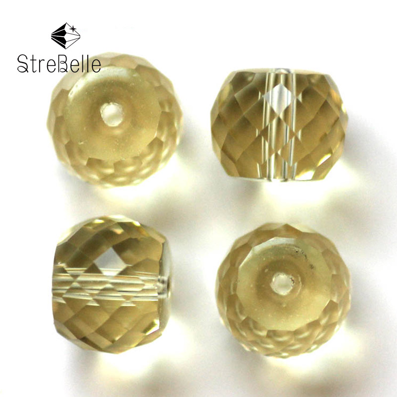 AAA 6x8mm 50pcs crystal fashion diy jewelry clumn shape beads faceted glass bracelets beads in Beads from Jewelry Accessories