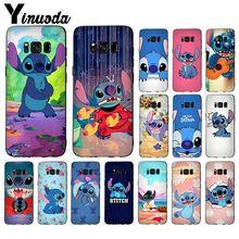Yinuoda Stitch Ultra Thin Cartoon Pattern Phone Case For GALAXY s5 s6 edge plus s7 s8  s9