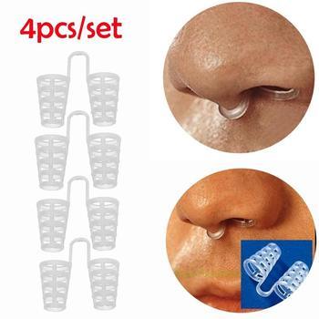 4pcs/Set Anti Snore Nasal Clip
