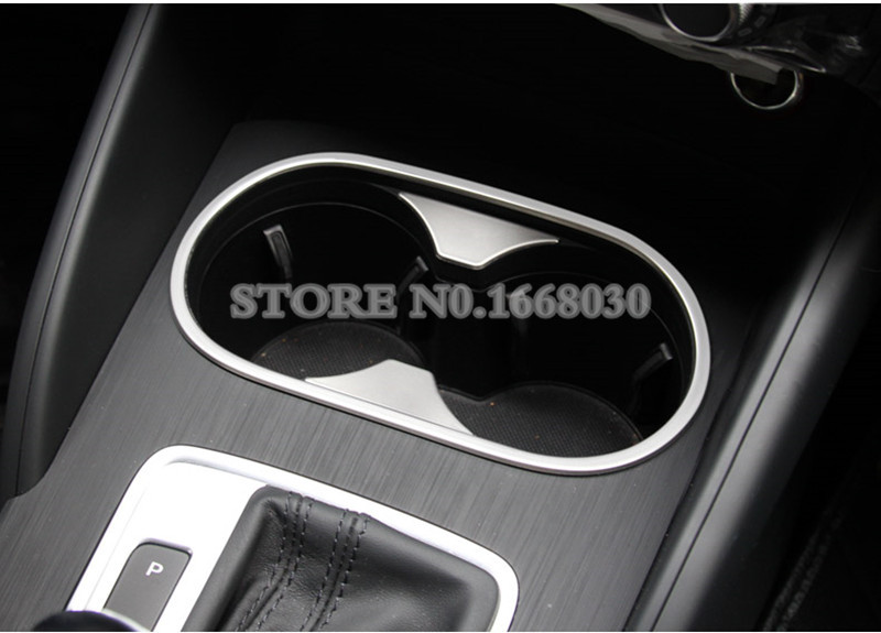 For Audi A3 S3 Interior Water Cup Holder Moulding Cover Trim 2014 2017 3pcs in Interior Mouldings from Automobiles Motorcycles