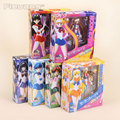 15cm 6inches Japanese Anime Sailor Moon Mercury Mars Venus PVC Action Figure Toy children's Christmas gifts