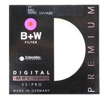 B + W XSP MRC UV Filtro Digital 49 52 55 58 62 67 72 77 82mm de Perfil Baixo Estrutura XSP MRC UV Multicoat Para Lente Da Câmera