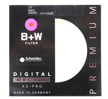 B + W XSP MRC Digital filtro UV 49 52 55 58 62 67 72 77 82mm de bajo perfil marco XSP MRC UV Multicoat para lentes de cámara