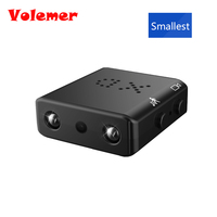 Volemer IR CUT Mini Camera Smallest 1080P Full HD Camcorder Infrared Night Vision Micro Cam Motion Detection DV PK SQ11 SQ8