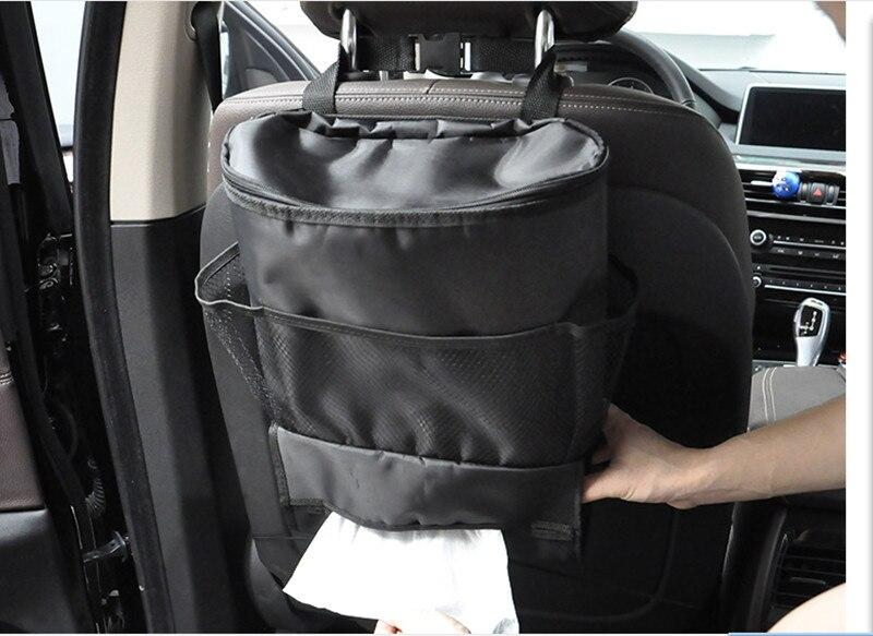 Samochód Seat powrót torba organizator wielu kieszeni chłodnicy Oxford płócienna torba stylizacja samochodu dla Porsche cayenne macan 911 panamera 997 996 918