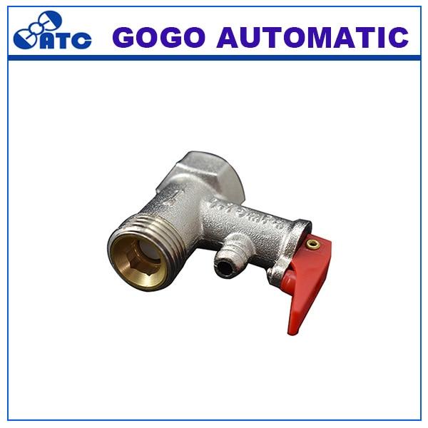 0.8Mpa Messing Temperatur Und überdruckventil Sicherheitsventil Einweg  Rückschlagventile Für Wasser Heizungen System