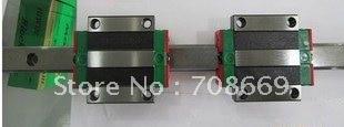 HIWIN Linear Guide HGR15 L800mm rail +2pcs HGW15 CA blocks