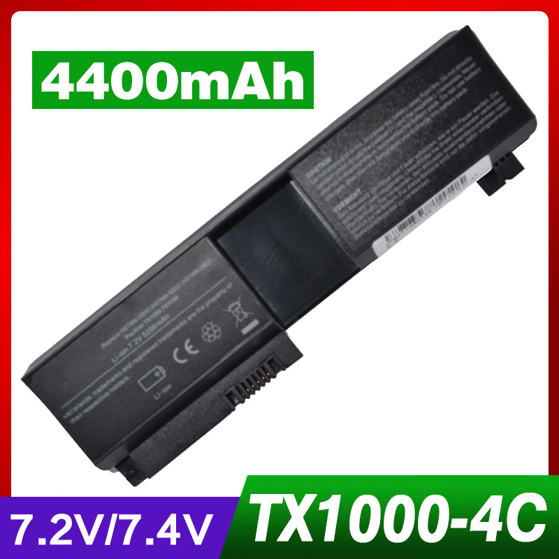 4400mah laptop battery for HP RQ204AA tx1000 tx1100 tx1200 tx1300 tx1400 tx2000 tx2100 <font><b>tx2500</b></font> tx2600 tx2tx2z-1000 CTO image