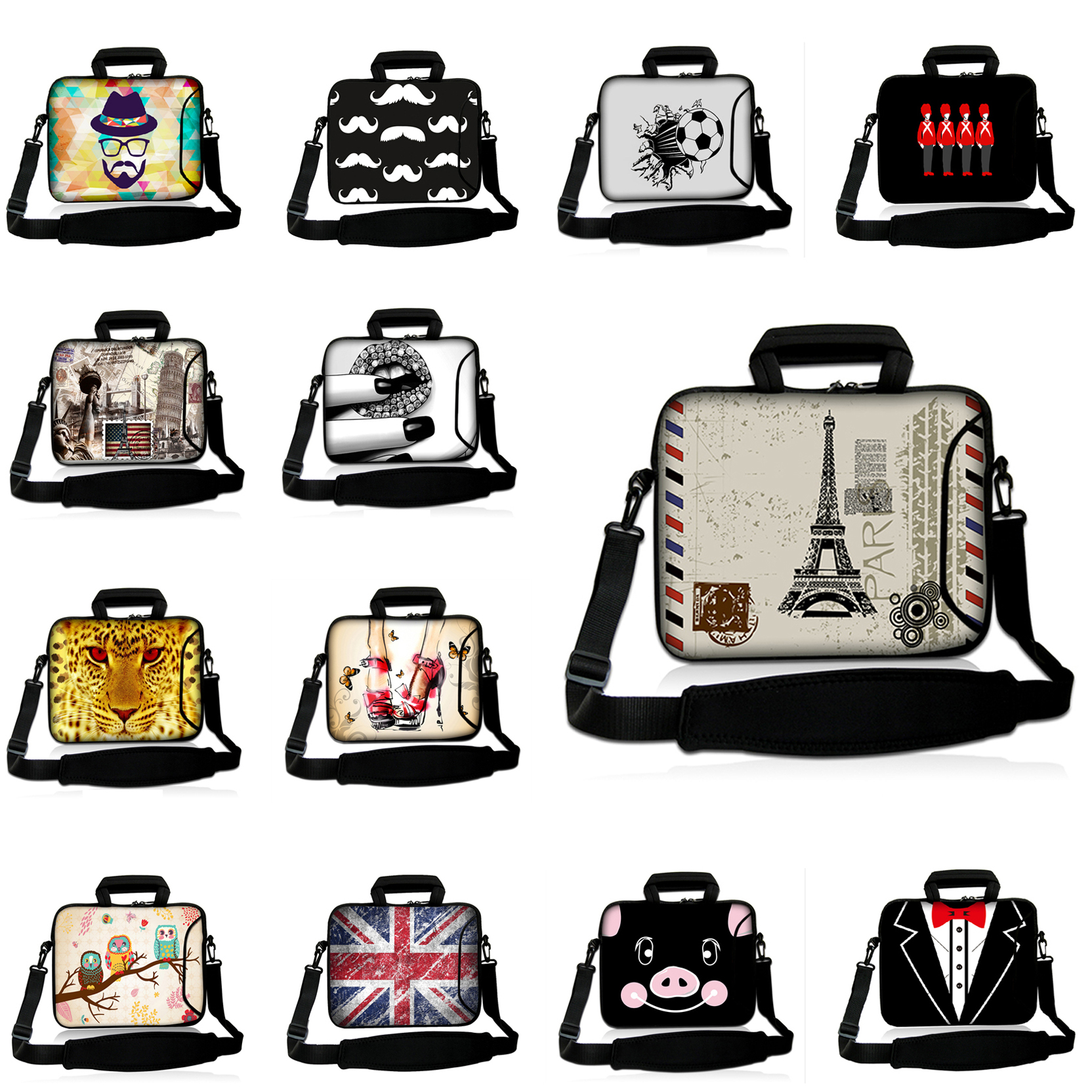 Newest Shoulder Cases 17.3/16.8 Inch Computer Bags For HP Asus Series Laptop 17 Inch Case Unisex Messenger Laptop Bag 17.4 Inch