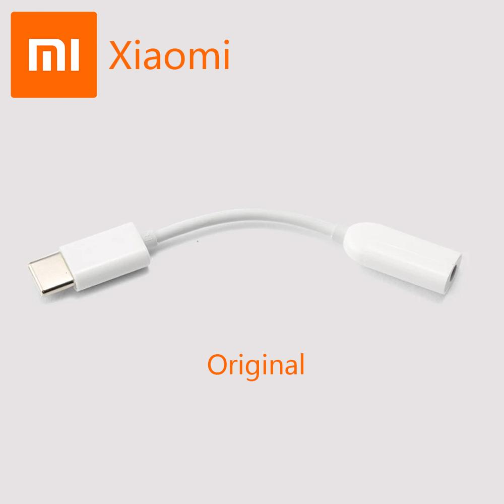 Original Xiaomi Earphone Adapter USB3.1 Type C To 3.5mm Cable Music Headphone Converter USB C Adapter for Oneplus Huawei Samsung