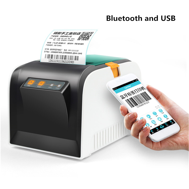 80 milímetros impressora térmica de código de barras impressora de etiquetas etiqueta Roupas varejo supermercadista catering USB impressora de recibos impressora bluetooth