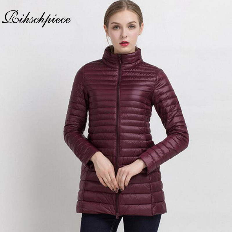 Rihschpiece 2018 Winter Plus Size 4XL Long Jacket Women Coat   Parka   Jackets Cotton Padded Jacket Coat Thin Clothes RZF1276
