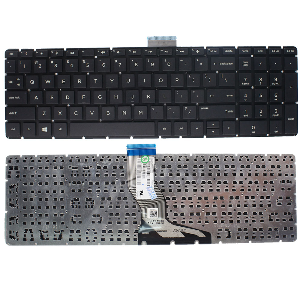 New Laptop <font><b>keyboard</b></font> For <font><b>HP</b></font> 256 <font><b>G6</b></font>, 255 <font><b>G6</b></font>, <font><b>250</b></font> <font><b>G6</b></font> US English keypad keys Replacement image