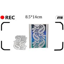 Scrapbooking Greeting Card edge Lace Hollow Border Metal Cutting Dies Stencil Frame Embossing Template DIY new