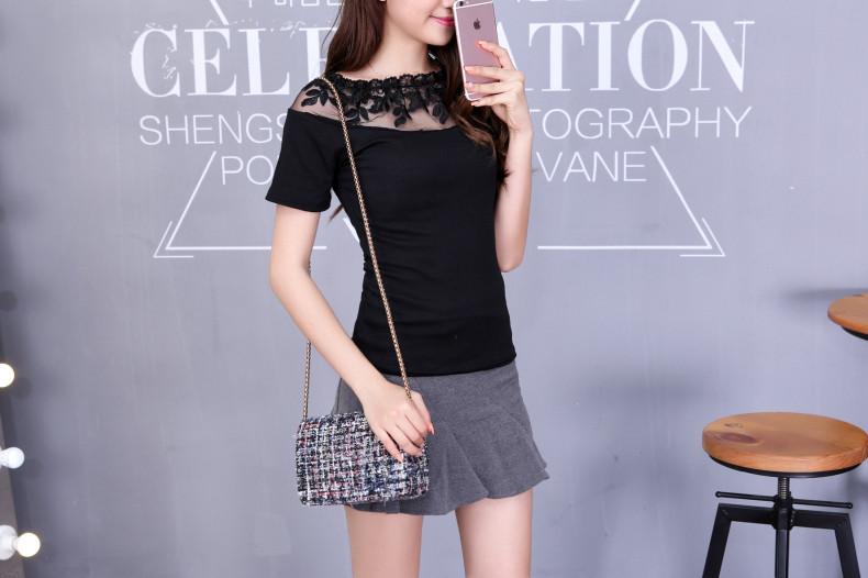 HTB16TiTJVXXXXaoXXXXq6xXFXXXk - Blusa black white striped blouse shirts long sleeve