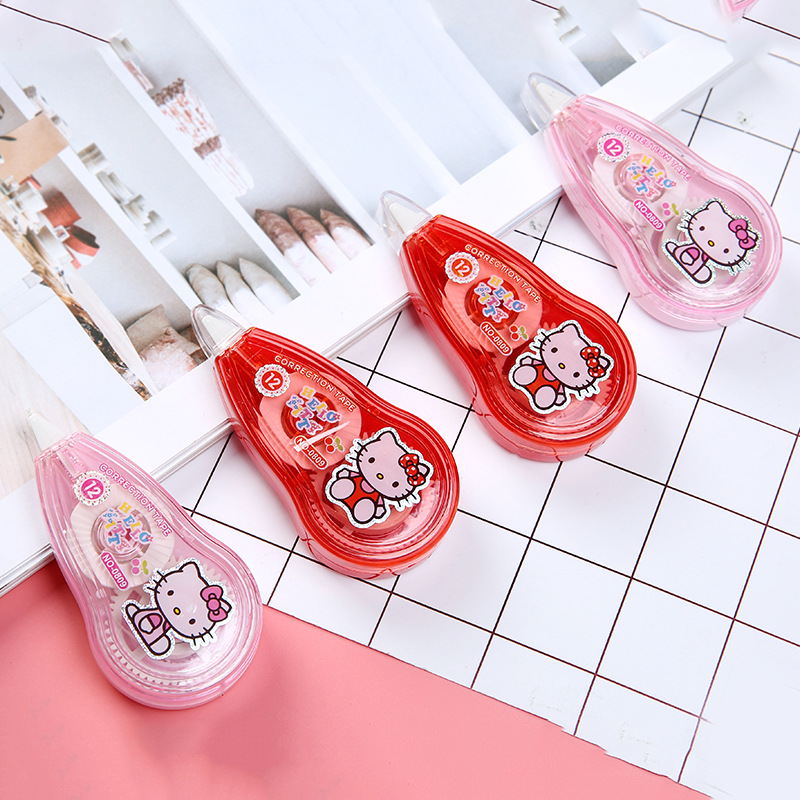 Hello Kitty Practical Correction Tape Promotional Gift Stationery Student Prize School Office Supply