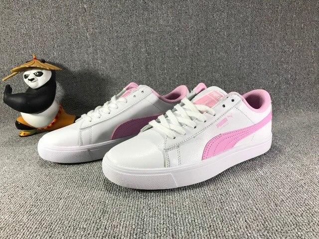 2d92c41de9b 2018The new PUMA X BTS COURT STAR Korea woman Cadet shoes pink plates  series leisure badminton shoes