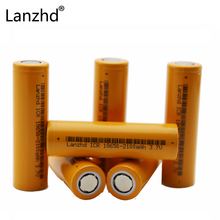 hot deal buy 6pcs/lot  lanzhd icr 18650 2100mah rechargeable batteries 3.7v rechargable li-ion rechargeable batteries for flashlights bettery