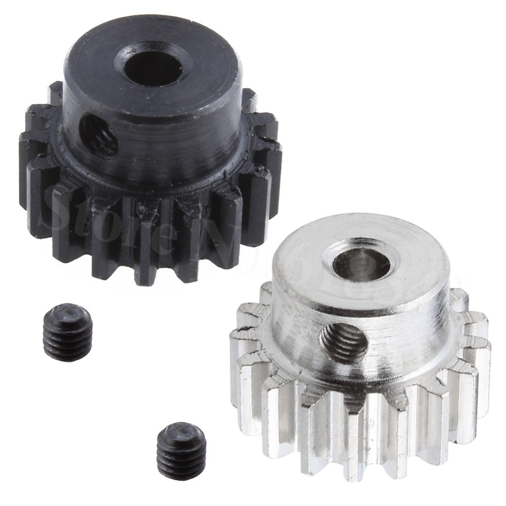 Metal Motor Pinion Gear 17T 0088 3.175mm Hole For WLtoys 12428 12423 1/12 RC Car Crawler Short Course Truck Upgrade Parts metal spur differential main gear 62t 0015 for wltoys 12428 12423 1 12 rc car crawler short course truck upgrade parts