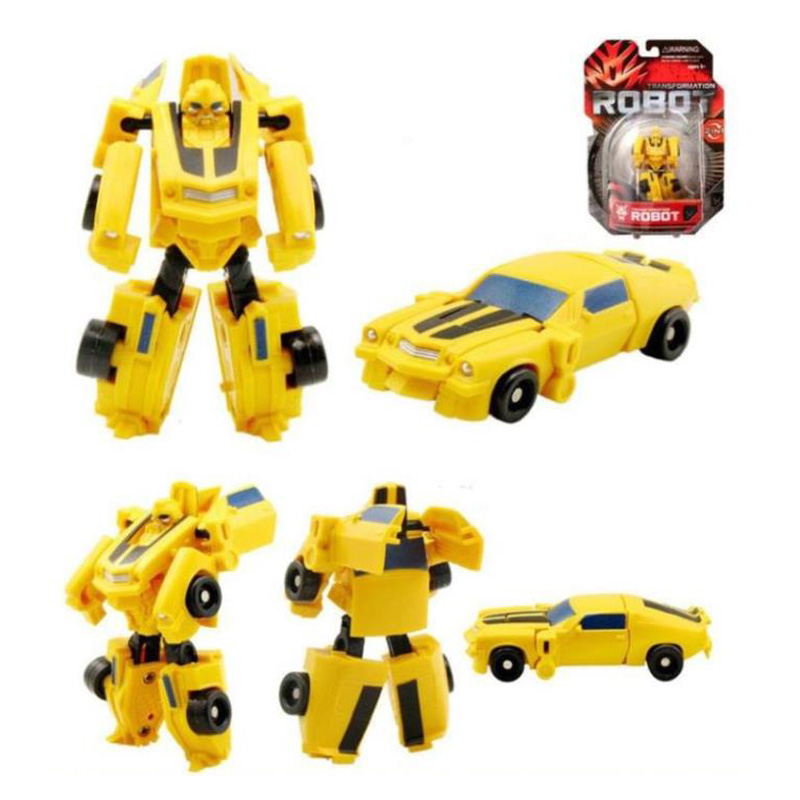 Caja al por menor 7 unids / set Transformation Kids Classic Robot - Figuritas de juguete - foto 4