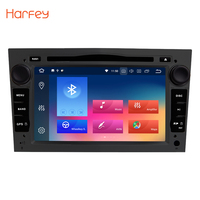 Harfey For 2004 2012 Opel Zafira car radio gps android 8.0 2din Car DVD Player GPS NAVIGATION 7 HD 1024*600 Multi touch Screen