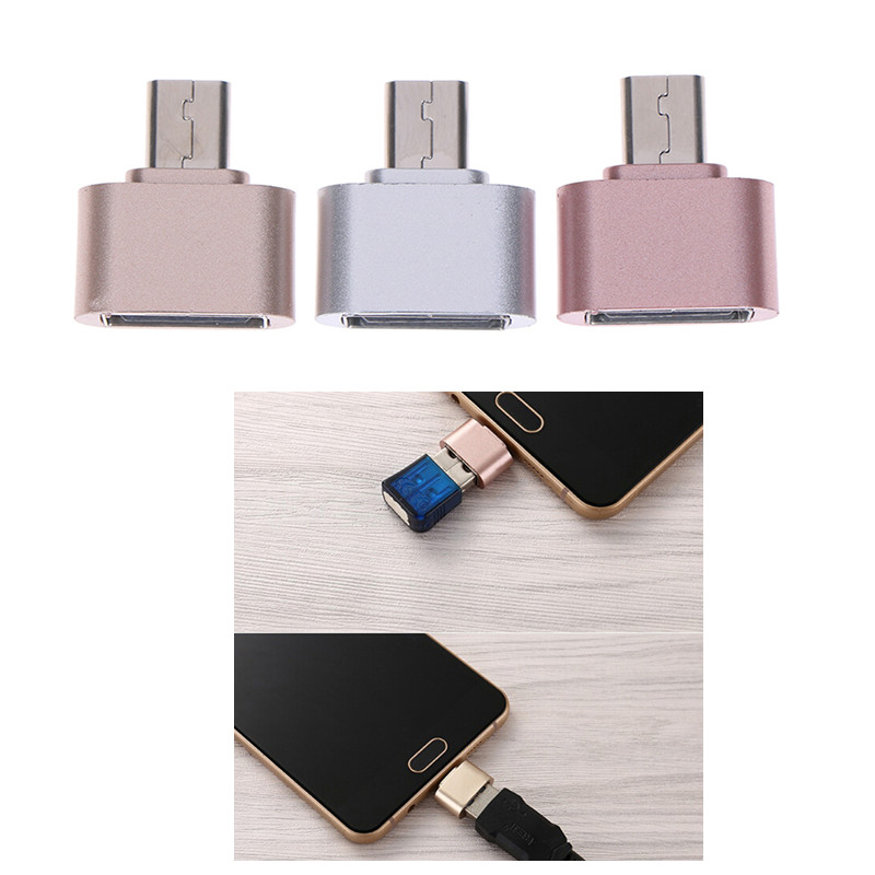 Micro USB OTG 2.0 Hug Converter OTG Adapter For Android Phone Cable Card Reader Flash Drive OTG Cable Reader