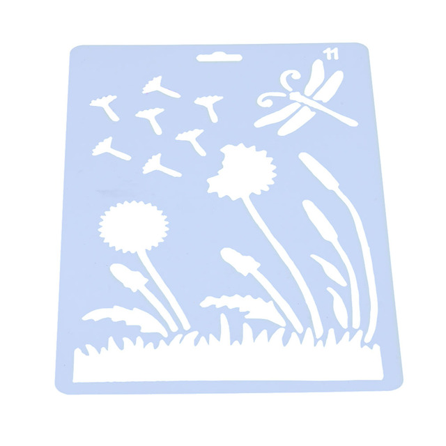 Album Spray Painted Theme Lace Template Scrapbooking Tool Card DIY ...