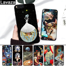 Lavaza Trippy Art aesthetic Space astronaut Silicone Case for Redmi 4A 4X 5A S2 5 Plus 6 6A Note 4 Pro 7 8 k20 Prime Go