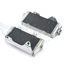 high quality Motorcycle Parts Aluminium Replacement Grille Guard Cooling Cooler Radiator Left Moto for Honda CRF