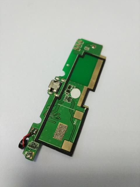 De trabajo utilizado 100% original Umi C1 Cruz Pequeña placa de Carga USB reemplazo de la reparación para Umi Cruz C1 Teléfono Envío gratis + Track