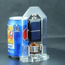 Магнитная подвеска высокоскоростные солнечные двигатели Mendocino двигатели вертикальные солнечные технологии игрушки подарки солнечный генератор