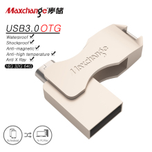 Maxchange USB Flash Drive 64GB OTG USB 3 0 Pen Drive 32GB Memory Stick 16GB Storage