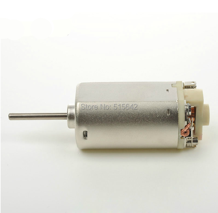 Yh Rf365 12v Micro Dc Motor For Toy Model Silver