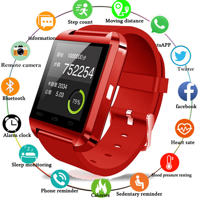 Smartwatch Men Women Bluetooth Smart Watch for iPhone IOS Android Smart Phone Wear Clock Wearable Device Smartwach PK GT08 DZ09