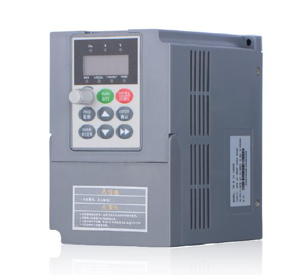 Inverter three-phase 380 v 2.2 KW inverter of high performance vector inverter machinery control parts motor controller 1pcs bs230b button switch is 380 v three phase retainer