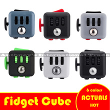 11 colors Fidget Cube Puti Puchi Funny Toys Relieve Stress Christmas Gift For Kids Friends Magic