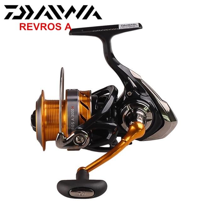 c804da8c3c7 100% Daiwa REVROS A Spinning Fishing Reel 2000/2500/3000H/3500/4000 ...