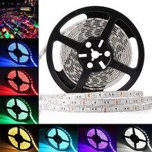 RGB Led strip light 5M DC12V 5050 Waterproof IP65 LED Light 60 LEDs/m 5m/lot Led Tape Home Decoration Lamp
