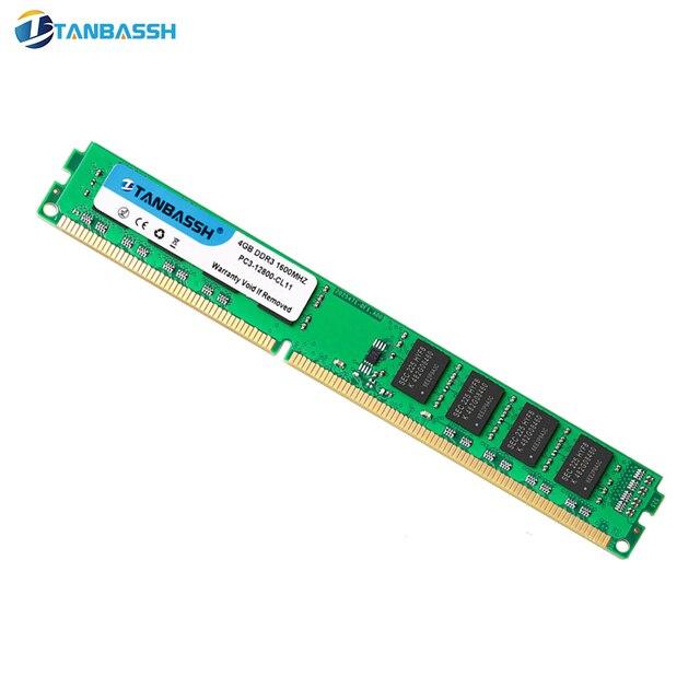 TANBASSH Ram DDR3 4 GB/8 GB 1333 MHZ/1600 MHz và 2 GB 1333 MHZ Máy Tính Để Bàn Bộ Nhớ 240pin 1.5 V DIMM Intel/AMD