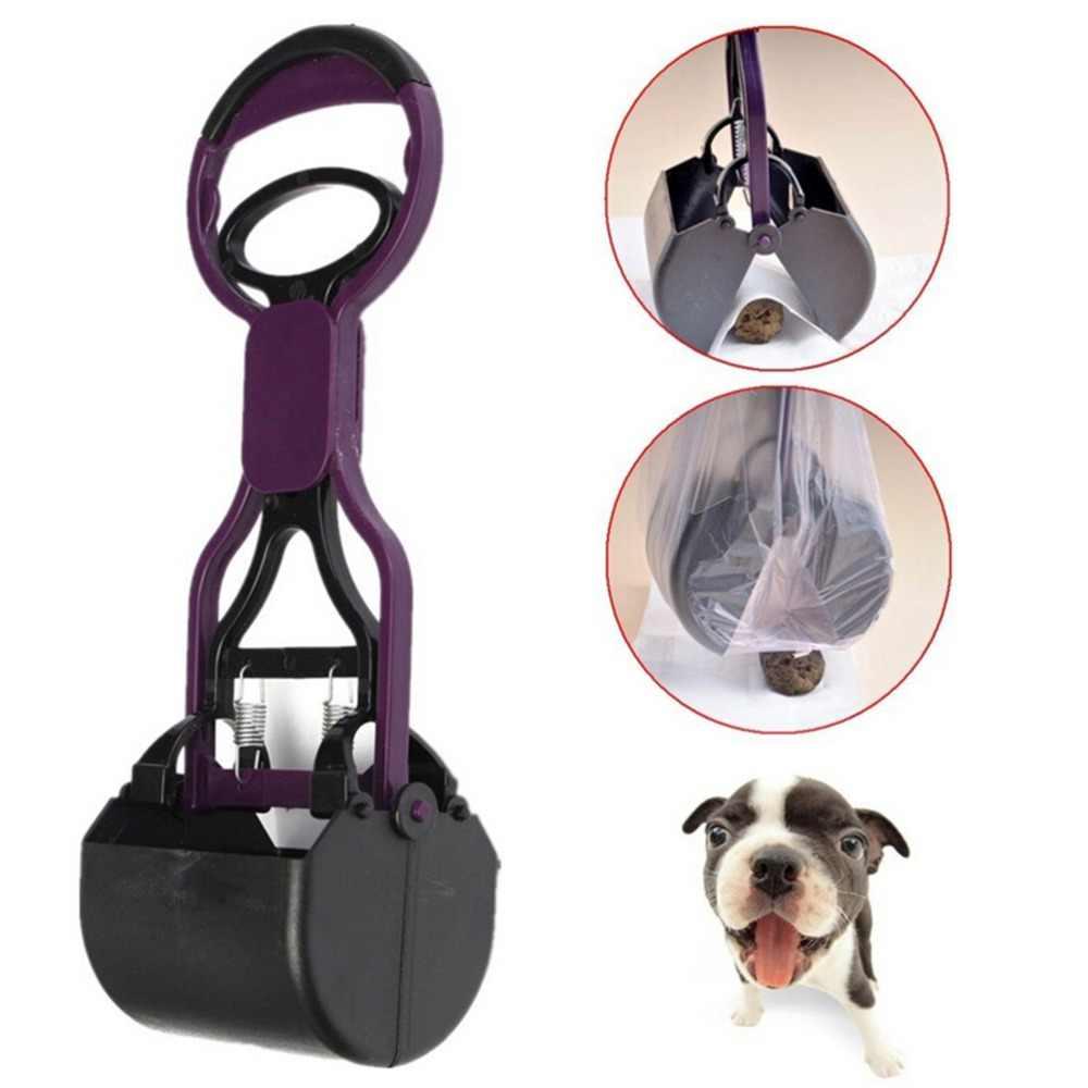 Pooper portátil Scooper perro mascota gato productos residuos basura caca limpieza suministros perros inodoros herramientas de recogida fácil