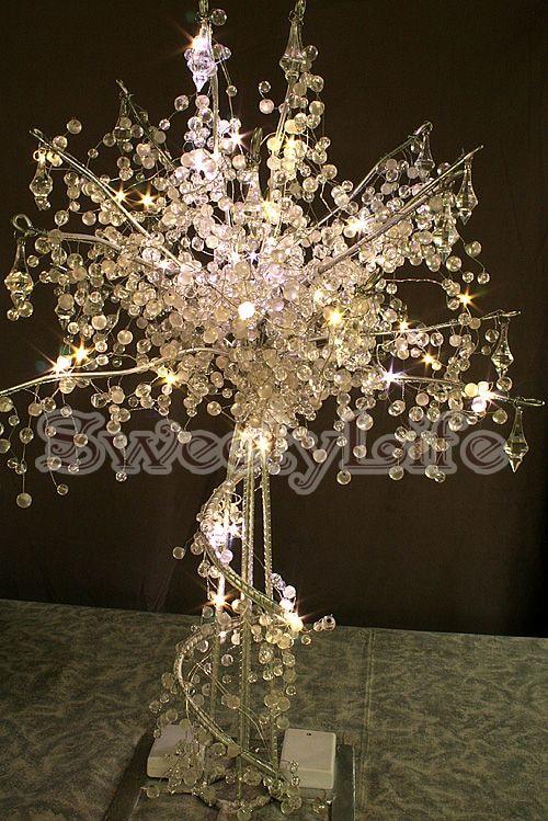 90cm tall acrylic crystal wedding tree wedding centerpiece